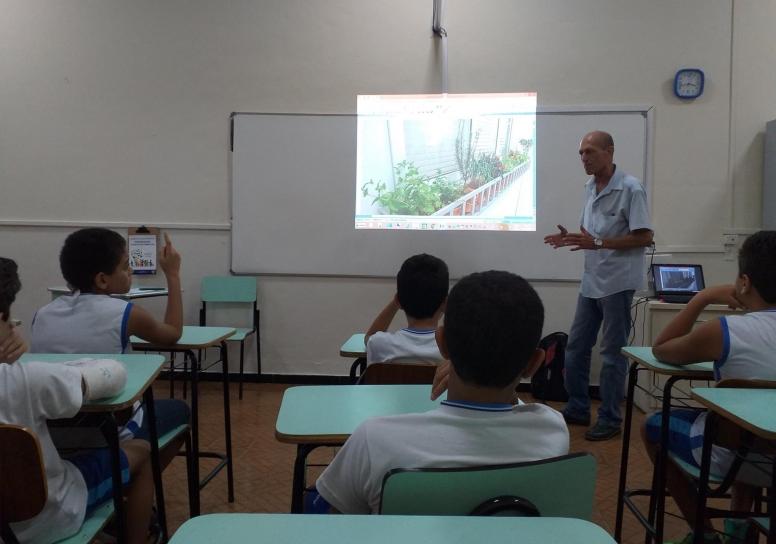 Projeto Cultivo de Horta. - 6º ano do Integral