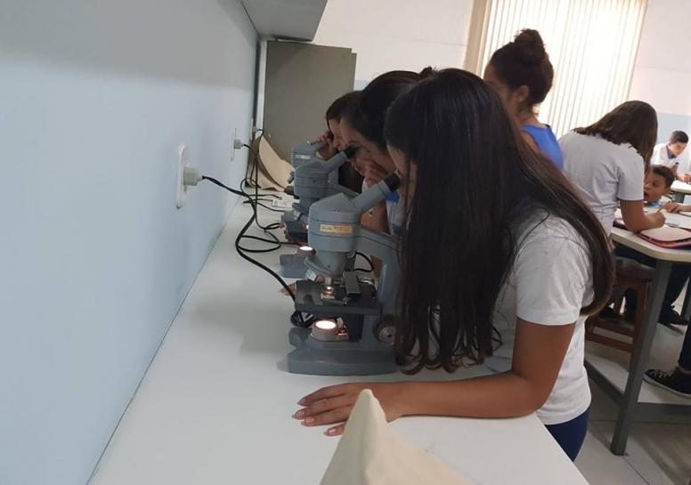 Aula prática sobre as células