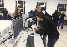 Nossos alunos foram conhecer o Centro Universitário UNIFOA